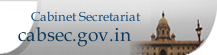 Cabinet Secretairat Website : External website that opens in a new window